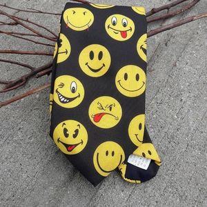 Vintage 1995 smiley face tie